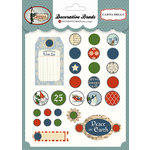 Carta Bella - Christmas Wonderland Collection - Decorative Brads