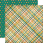 Carta Bella - Fall Blessings Collection - 12 x 12 Double Sided Paper - Fall Plaid