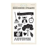 Carta Bella - Fall Blessings Collection - Clear Acrylic Stamps - Fall Days