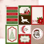 Carta Bella - Have a Merry Christmas Collection - 12 x 12 Double Sided Paper - 4 x 6 Journaling Cards
