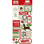 Carta Bella - Have a Merry Christmas Collection - Chipboard Stickers