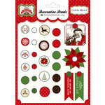Carta Bella - Have a Merry Christmas Collection - Decorative Brads