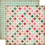 Carta Bella Paper - Home Sweet Home Collection - 12 x 12 Double Sided Paper - Handmade Quilt