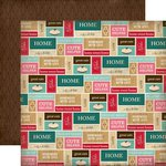 Carta Bella Paper - Home Sweet Home Collection - 12 x 12 Double Sided Paper - Kitchen Labels