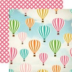 Carta Bella - Soak Up The Sun Collection - 12 x 12 Double Sided Paper - Hot Air Balloon