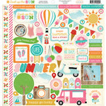Carta Bella - Soak Up The Sun Collection - 12 x 12 Cardstock Stickers
