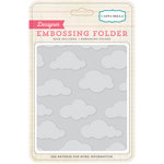 Carta Bella - Soak up the Sun Collection - Embossing Folder - Clouds