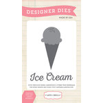 Carta Bella - Soak Up The Sun Collection - Designer Dies - Ice Cream Scoop
