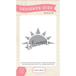 Carta Bella - Soak up the Sun Collection - Designer Dies - Summer Sun