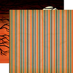 Carta Bella - Trick or Treat Collection - Halloween - 12 x 12 Double Sided Paper - Spooky Night