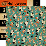 Carta Bella - Trick or Treat Collection - Halloween - 12 x 12 Double Sided Paper - Costume Contest