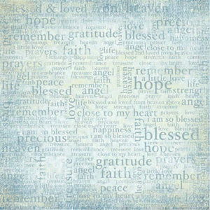 Carolee's Creations Adornit - Mother Collection - Paper - Life's Blessings, CLEARANCE