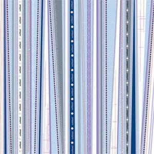Carolee's Creations Adornit - Softball Collection - Softball Stripe