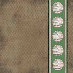 Carolee's Creations - Adornit - Baseball Collection - 12x12 Paper - Dugout