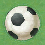 Carolee's Creations - Adornit - Soccer Collection - 12x12 Paper - Jumbo Soccer Ball
