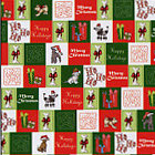 Carolee's Creations - Adornit - Pet Christmas Collection - 12 x 12 Paper - Doggie Surprise, CLEARANCE