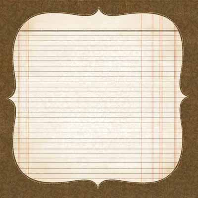 Carolee's Creations - Adornit - Rae Collection - 12 x 12 Paper - Rae Bracket, CLEARANCE