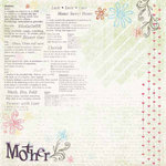 Carolee's Creations - Adornit - Family Hertiage Collection - 12 x 12 Paper - Mother's Love