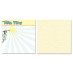 Carolee's Creations - Adornit - Tooth Fairy Collection - 12 x 12 Double Sided Paper - Tooth Fairy