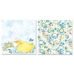 Carolee's Creations - Adornit - Tub Time Collection - 12 x 12 Double Sided Paper - Splish Splash