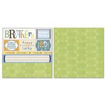 Carolee's Creations - Adornit - Brother Collection - 12 x 12 Double Sided Paper - Brother Cut Apart