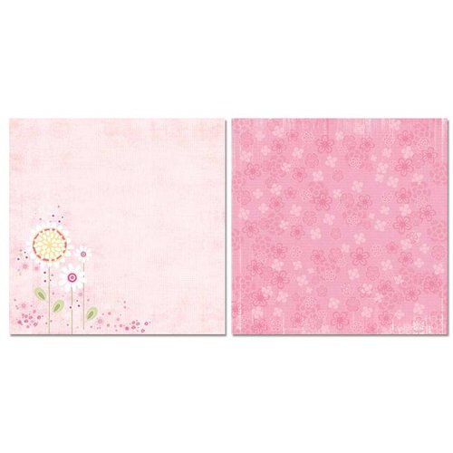 Carolee's Creations - Adornit - Baby Girl Collection - 12 x 12 Double Sided Paper - Itsy Bitsy You