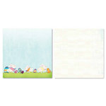 Carolee's Creations - Adornit - Easter Collection - 12 x 12 Double Sided Paper - Bunny Play
