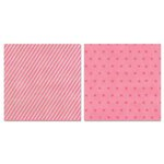 Carolee's Creations - Adornit - Charmed Collection - 12 x 12 Double Sided Paper - Charmed Pink