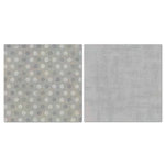 Carolee's Creations - Adornit - Blender Basics Collection -12 x 12 Double Sided Paper - Gray Pixie Dots