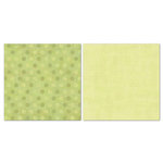Carolee's Creations - Adornit - Blender Basics Collection -12 x 12 Double Sided Paper - Green Pixie Dots