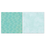 Carolee's Creations - Adornit - Blender Basics Collection -12 x 12 Double Sided Paper - Mint Pixie Dots