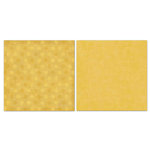 Carolee's Creations - Adornit - Blender Basics Collection -12 x 12 Double Sided Paper - Mustard Pixie Dots