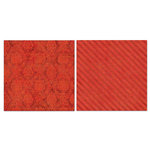 Carolee's Creations - Adornit - Blender Basics Collection -12 x 12 Double Sided Paper - Red Damask