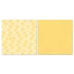 Carolee's Creations - Adornit - Blender Basics Collection -12 x 12 Double Sided Paper - Yellow Pixie Dots