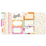 Carolee's Creations - Adornit - Seasons Collection - 12 x 12 Double Sided Paper - April Cut Apart