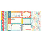 Carolee's Creations - Adornit - Seasons Collection - 12 x 12 Double Sided Paper - June Cut Apart