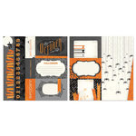 Carolee's Creations - Adornit - Seasons Collection - 12 x 12 Double Sided Paper - October Cut Apart