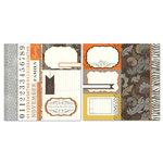 Carolee's Creations - Adornit - Seasons Collection - 12 x 12 Double Sided Paper - November Cut Apart