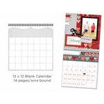 Carolee's Creations - Adornit - 12 x 12 Blank Calendar