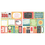 Carolee's Creations - Adornit - Summertime Memories Collection - 12 x 12 Double Sided Paper - Summer Cut Apart