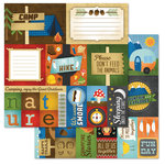Carolee's Creations - Adornit - Happy Trails Collection - 12 x 12 Double Sided Paper - Nature Cut Apart