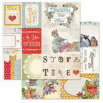 Carolee's Creations - Adornit - Storybook Collection - 12 x 12 Double Sided Paper - Storybook Cut Apart