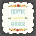 Carolee's Creations - Adornit - Art Play Prints - 12 x 12 Paper - Home Sweet Home