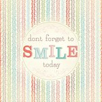 Carolee's Creations - Adornit - Art Play Prints - 12 x 12 Paper - Smile