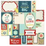 Carolee's Creations - Adornit - Nested Owl Mint Collection - 12 x 12 Double Sided Paper - Owlways Cut Apart