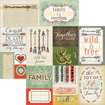 Carolee's Creations - Adornit - Family Path Collection - 12 x 12 Double Sided Paper - Cut Apart