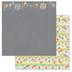 Carolee's Creations - Adornit - Kaleidoscope Collection - 12 x 12 Double Sided Paper - Geo Flowers