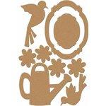 Carolee's Creations - Adornit - Garden Fun Collection - Wood Shapes - Garden