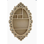 Carolee's Creations - Adornit - Wood Shop Project - Shaped Shadow Box - Oval