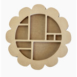 Carolee's Creations - Adornit - Wood Shop Project - Shaped Shadow Box - Blossom